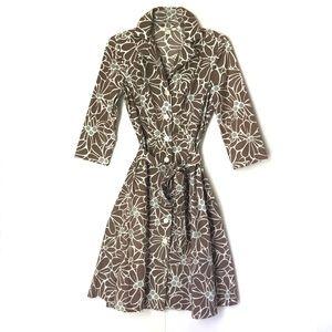 Boden Riviera Cotton Shirt Dress Size 8